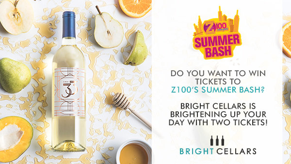 Bright Cellars is Brightening Up Your Day With Two Tickets to Z100's Summer Bash!<