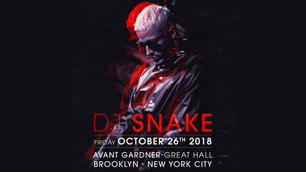 None - Enter to Win Tickets to see DJ Snake