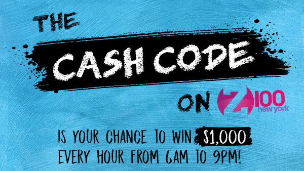 None - Cash Code on Z100 Is Your Chance to Win $1,000