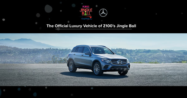 None -  Mercedes-Benz Is Giving You the Chance to Win a Pair of Tickets to Z100's Jingle Ball!