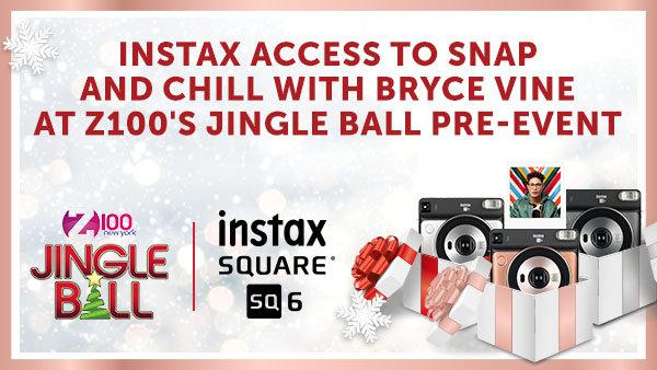 None -  Win Instax Access At Z100's Jingle Ball