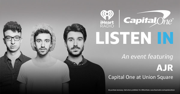 None -   Listen In Presented By Capital One – An Event Featuring Performance By AJR
