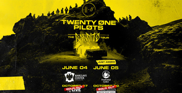 None -  Win Tickets To See Twenty One Pilots in 2019!