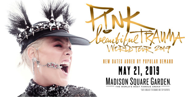 None -  Win Tickets to See P!NK at Madison Square Garden
