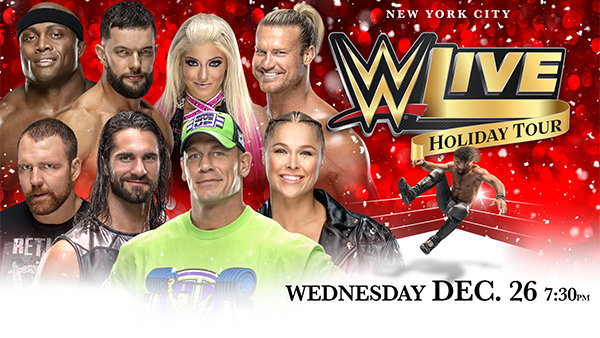 None -  WWE Live Holiday Tour Is Coming to Madison Square Garden!