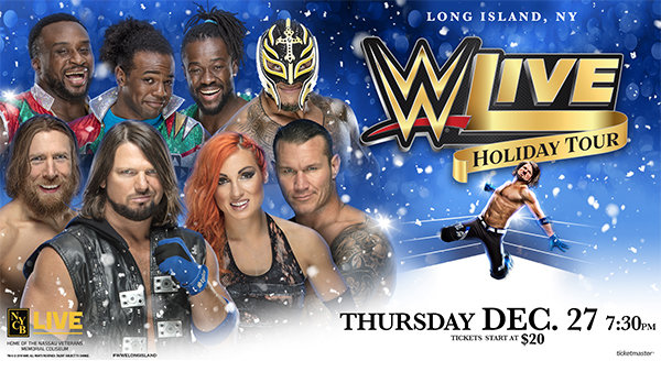 None - WWE Live Holiday Tour Is Coming to Long Island!