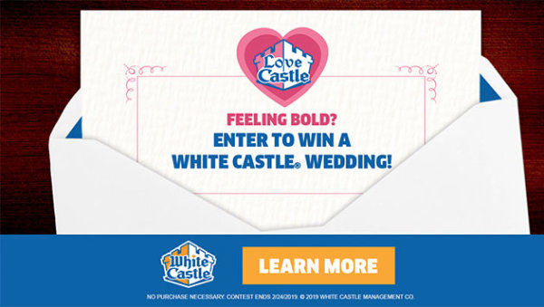 None -  Enter To Win A White Castle®  Wedding !