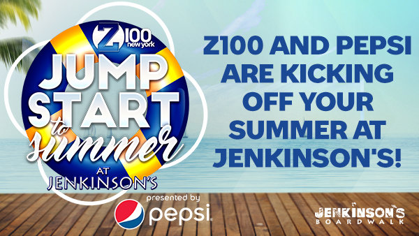 None -  Z100 and Pepsi Are Kicking Off Your Summer at Jenkinson's!