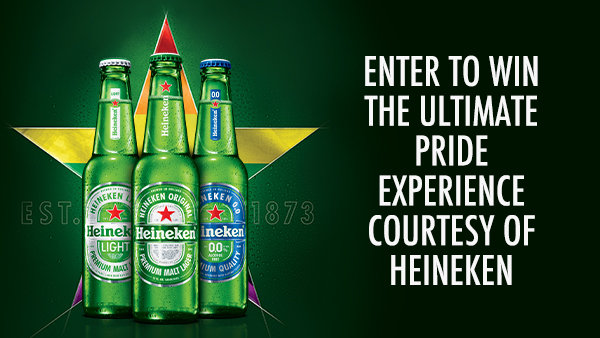 None - Win the Ultimate Pride Experience courtesy of Heineken