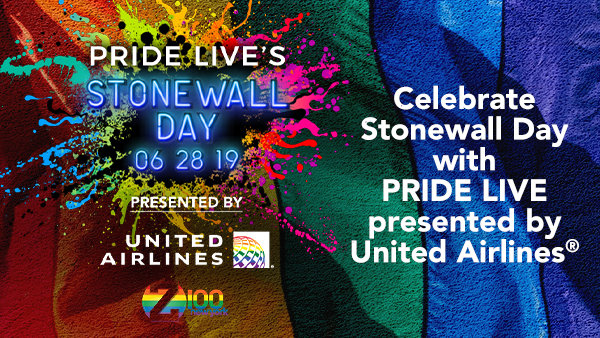 None -     Celebrate Pride Live's Stonewall Day presented by United Airlines!