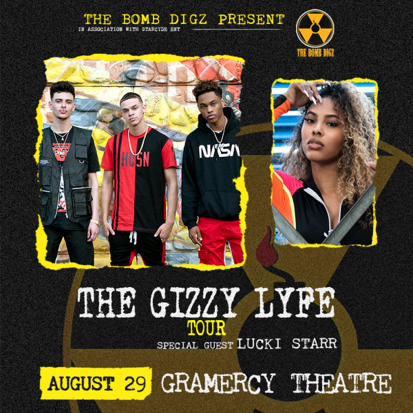 None - Enter To Win A Pair Of Tickets To The Bomb Digz @ Gramercy Theatre 8/29
