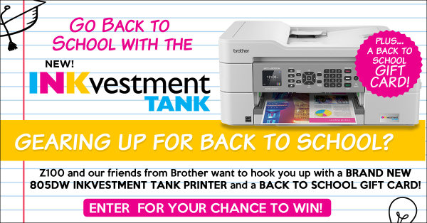None - Enter To Win A Brand New Printer And a $500 Back to school Gift Card From Brother INKvestment TANK Printers