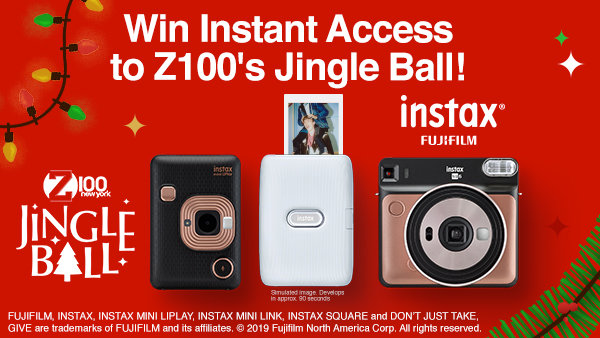 None - Enter for Chance to Win Instant Access to Z100's Jingle Ball