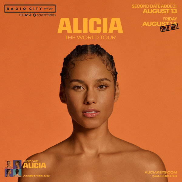 image for Enter To Win Tickets To See Alicia Keys!