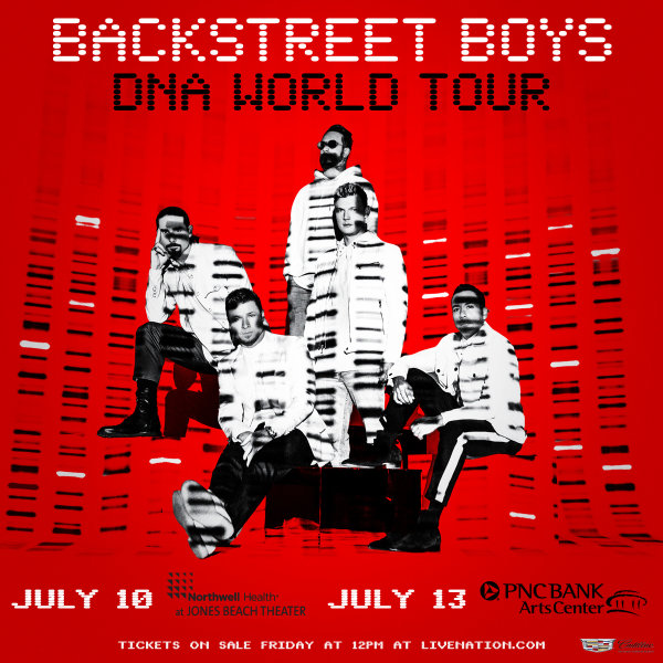 image for Enter For Your Chance To Win A Pair Of Tickets To See Backstreet Boys!