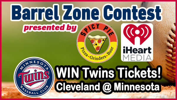 None - Win Cleveland Indians @ Minnesota Twins tickets!