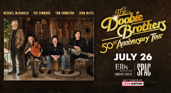 None - Chance to Win Tickets to the Doobie Brothers 50th Anniversary Tour!
