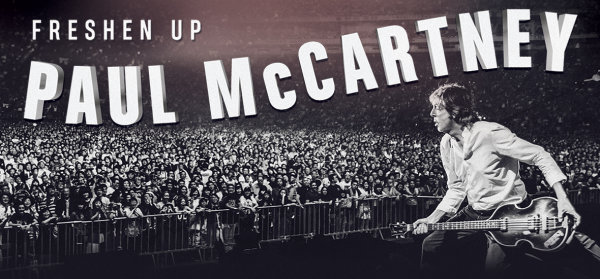 None - Win a pair of tickets to see Paul McCartney at Rupp Arena!