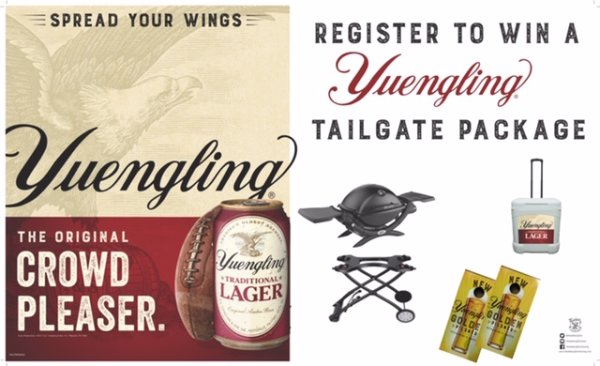 None -  Yuengling Tailgate Grand Prize Package!