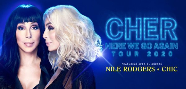 None - Win tickets to see Cher at Heritage Bank Center!