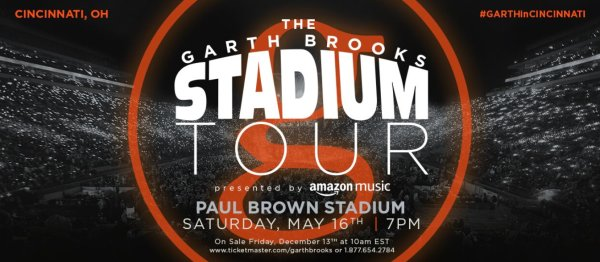 None - Garth Brooks at Paul Brown Stadium