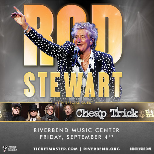 image for Win tickets to see Rod Stewart with Cheap Trick!