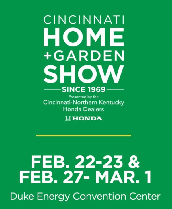 image for Win a 4-pack tickets to the Cincinnati Home & Garden Show!