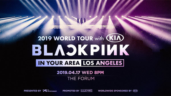 None - BLACKPINK at The Forum (4/17)