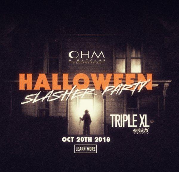 None -                          Club DV8: 10/20 - DJ Triple XL - #HalloweenSlasherParty