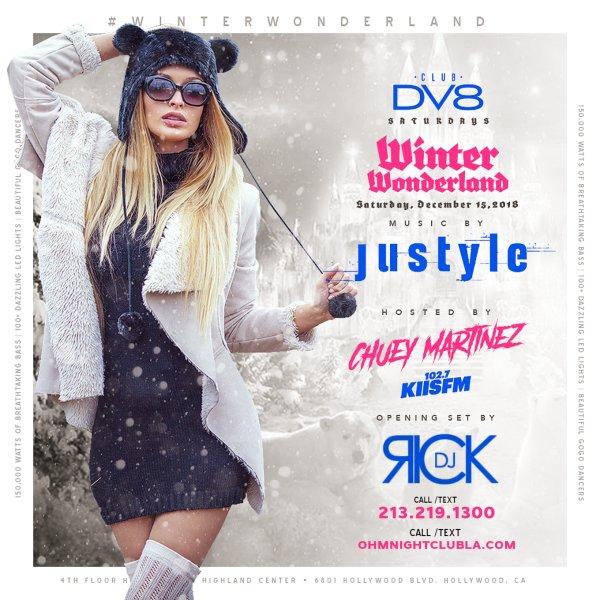 None -                                    Club DV8: 12/15 - DJ Justyle - #WinterWonderland