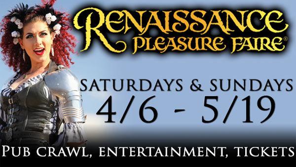 None -  Renaissance Pleasure Faire (4/6-5/19) (4-pack) (Online Contest #2)