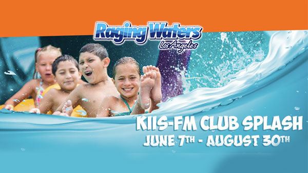 None - CLUB SPLASH at Raging Waters Los Angeles (4-pack) (Online Contest #4)