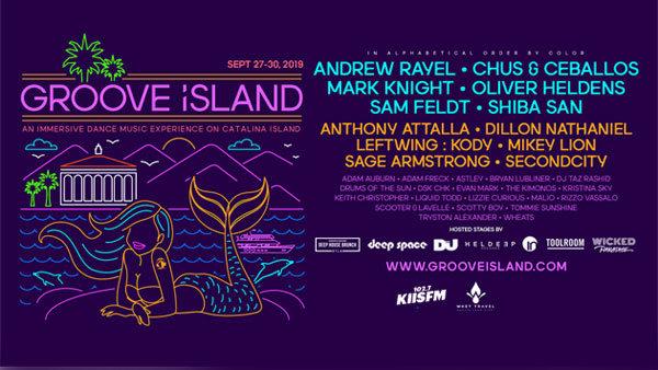 None - Groove Island on Catalina Island (9/27-9/30) (Pair)