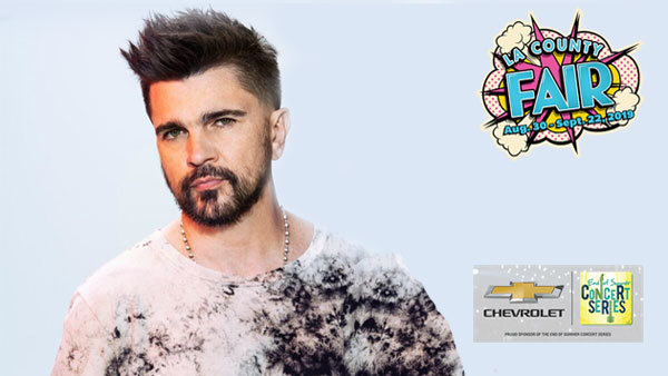 None - Juanes at the LA County Fair (9/8) (4-pack)