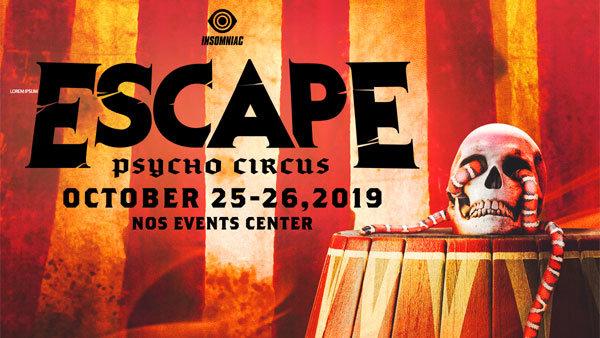 None - 2019 Escape: Psycho Circus (10/25 & 10/26) (2-Day GA Experience Passes)