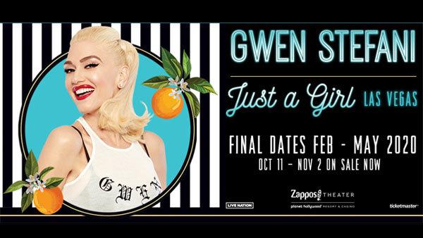 None - Gwen Stefani: Just A Girl Las Vegas Residency (2/7/20-2/9/20)