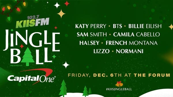 None - Be The Ultimate Jingle Baller at KIIS FM's SOLD OUT Jingle Ball Presented by Capital One (12/6)