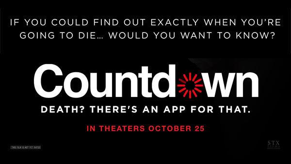 None - COUNTDOWN Advance Movie Screening (10/23) (Pair)