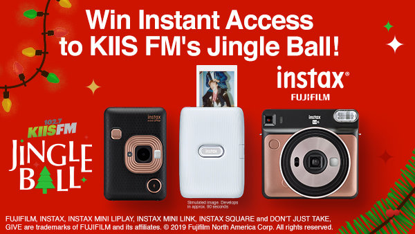None - Enter for Chance to Win Instant Access to KIIS FM's Jingle Ball