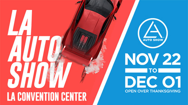 None - L.A. Auto Show at the LA Convention Center (11/22-12/1) (4-pack)