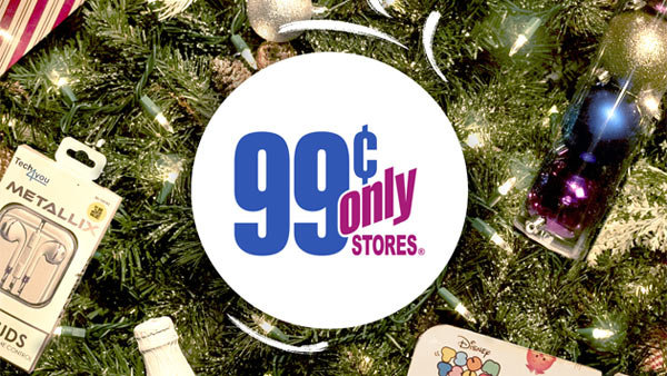None - $99 Gift Card from the 99 Cents Only Stores for the holidays