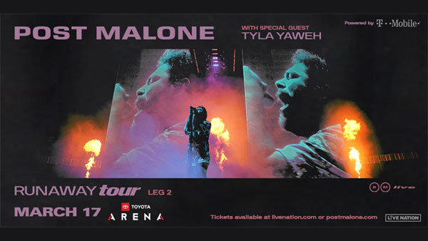 None - Post Malone at Toyota Arena in Ontario (3/17/20)