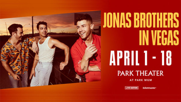 None - Jonas Brothers: Live in Las Vegas Residency (Hotel + Tickets + Gas Card)