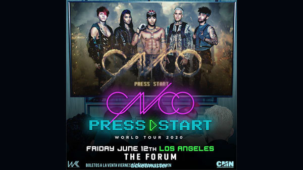 image for CNCO at The Forum (6/22)