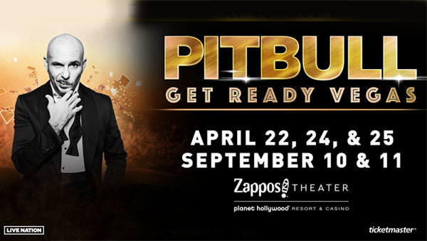 image for Pitbull: Get Ready Vegas (Hotel + Tickets + Gas Card)