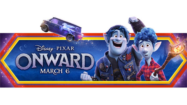 image for Win Passes to an Advance Screening of ONWARD (3/3) (4-pack)