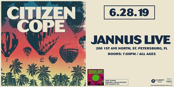 None - Enter to win Citizen Cope Tickets