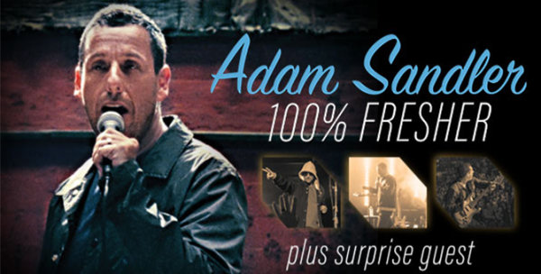 None - Enter to see Adam Sandler!