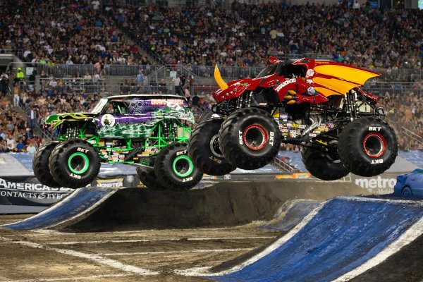 None - MONSTER JAM at Raymond James Stadium TEXT TO WIN!