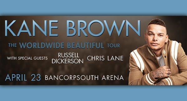 None - Kane Brown at BancorpSouth Arena Tupelo!
